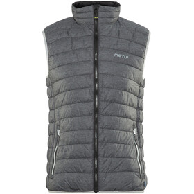 Meru Akaroa Padded Vest Men Black Melange